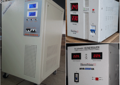 Automatic Voltage Regulator Range