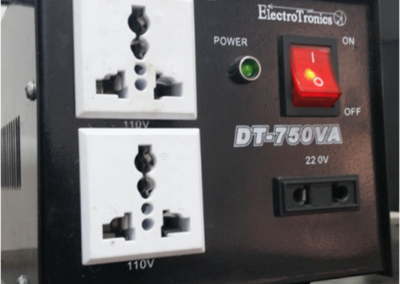 Transformer 110 to 220 volts