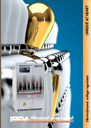 IREM Automatic Voltage Regulator Brochure - Electrotronics